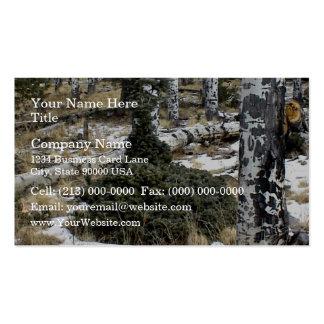 A very odd blue spruce business cards