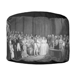 A Very Victorian Wedding Pouf