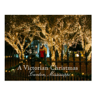 A Victorian Christmas - Canton, Mississippi Postcard
