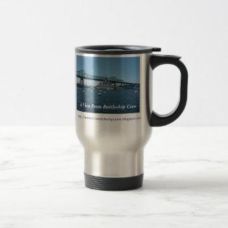 A View From Battleship Cove Mug