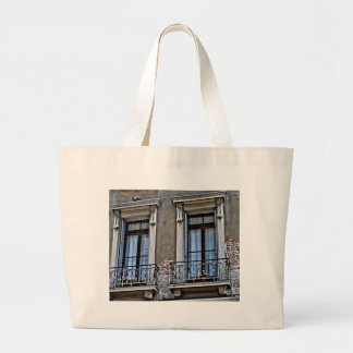 A view from Lido, Venezia Large Tote Bag