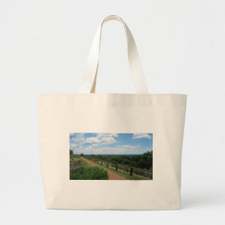 A View From Monticello Large Tote Bag