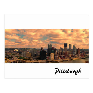 A View from Mt Washington of Pittsburgh Postcard