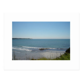 A View From The Cliffs In Newport, Rhode Island Postcard