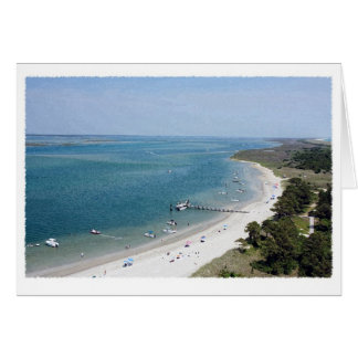 A View from the Top of Cape Lookout Card