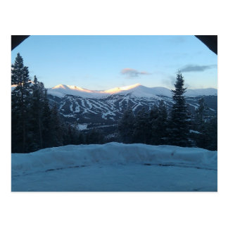 A View in Breckenridge Postcard Postcard