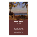 A View in the Bahamas by Bierstadt Albert. Pack Of Standard Business Cards