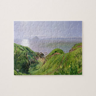 A View of Ailsa Craig and the Isle of Arran, 1860 Jigsaw Puzzle