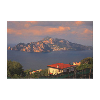 A view of Capri Italy Canvas Print