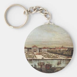 A View Of Munich Nymphenburg Castle Key Chain
