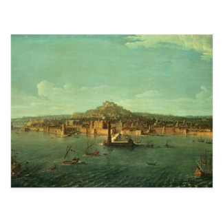 A View of Naples, 17th century Postcard