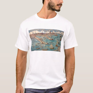 A View of Part of the Town of Boston T-Shirt