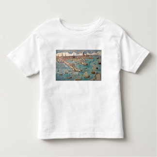 A View of Part of the Town of Boston Tshirt