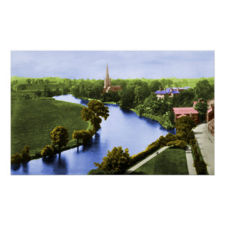 A View of Stratford-upon-Avon Poster