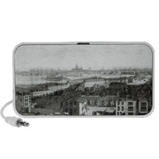 A View of the Cities of London and Westminster Portable Speakers