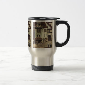 A View Of The Market Place Of Pirna Pirna Detail Coffee Mug
