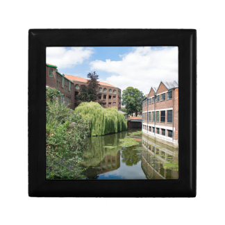 A view of the River Foss in York Small Square Gift Box