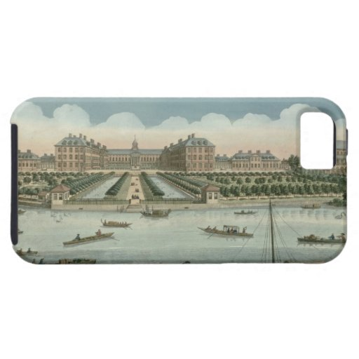 A View of the Royal Hospital at Chelsea and the Ro iPhone 5 Cases