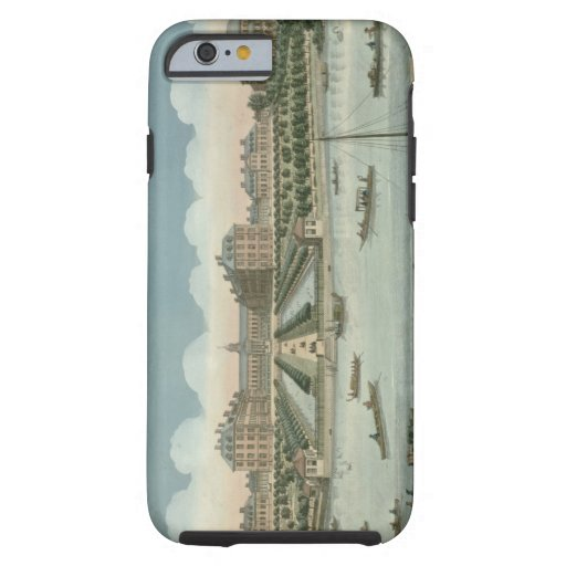 A View of the Royal Hospital at Chelsea and the Ro iPhone 6 Case