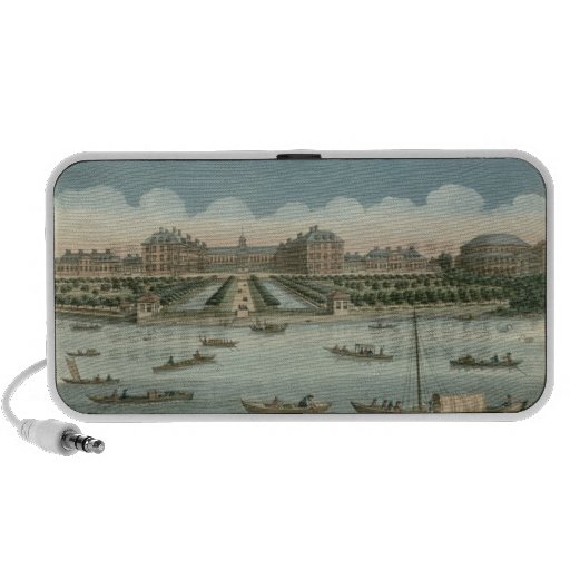 A View of the Royal Hospital at Chelsea and the Ro Mini Speakers