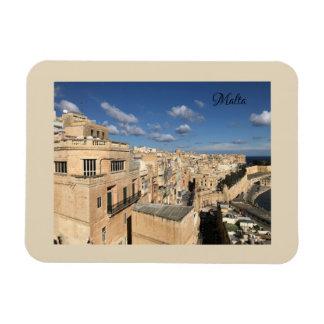 A view of Valletta, Malta by Sun, Moon, & Etoiles Magnet