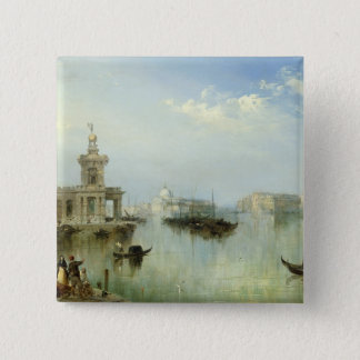 A View of Venice 15 Cm Square Badge