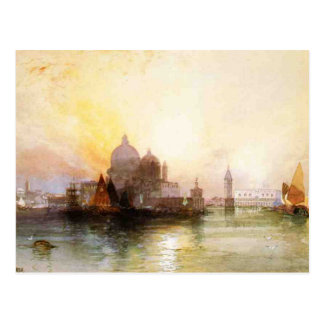 A View of Venice Postcard