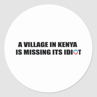 A Village in Kenya is Missing its Idiot Sticker