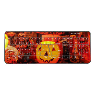 A Vintage Halloween Wireless Keyboard