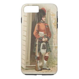 A vintage Scottish soldier iPhone 7 Plus Case