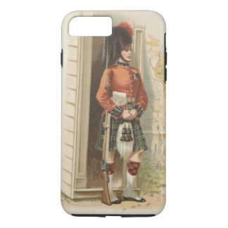 A vintage Scottish soldier iPhone 8 Plus/7 Plus Case
