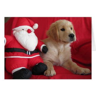 A visit from Santa Card