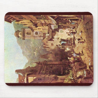 A Visit To The Country'S Father By Spitzweg Carl Mouse Pads