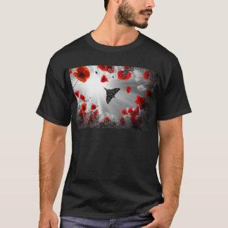 A Vulcan Poppy red T-Shirt
