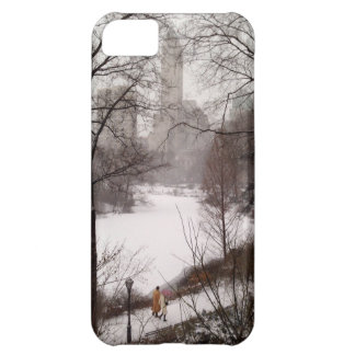 A Walk Around The Pond On A Winter Day iPhone 5C Case