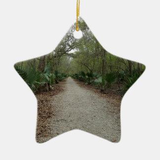 A walk in Nature Ceramic Ornament