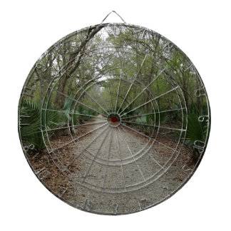 A walk in Nature Dartboard With Darts