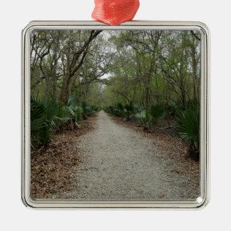 A walk in Nature Metal Ornament