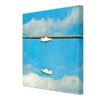 A Walk in the Clouds Stretched Canvas Prints