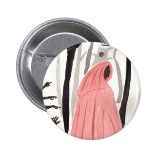 A Walk In The Creepy Forest 6 Cm Round Badge