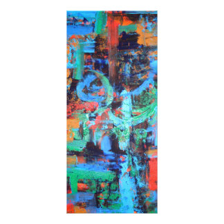 A Walk In The Forest - Abstract Art Custom Rack Card