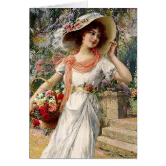 A Walk in the Garden, Card