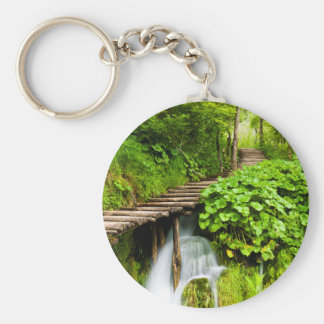 A Walk in the Woods Key Ring