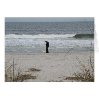 """""""A Walk on the Beach"""" - Card"""