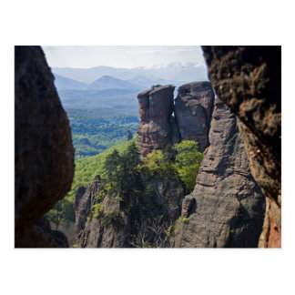 A walk throught Belogradchik Castle Ruins Postcard