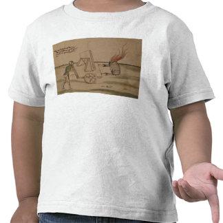 A War Machine illustration from De Machinis T-shirts