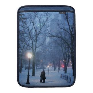 A Warm Kiss On A Cold Night MacBook Air Sleeve