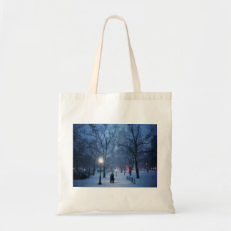A Warm Kiss On A Cold Night Tote Bag