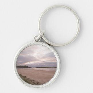 A warm Portnoo evening Key Ring
