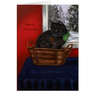 A Warm Snowy Christmas Card